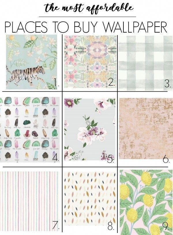 The Best Places To Buy Affordable Wallpaper I Share Paste Options And Peel And Stick Products Th Affordable Wallpaper Stick On Wallpaper Wallpaper Accent Wall
