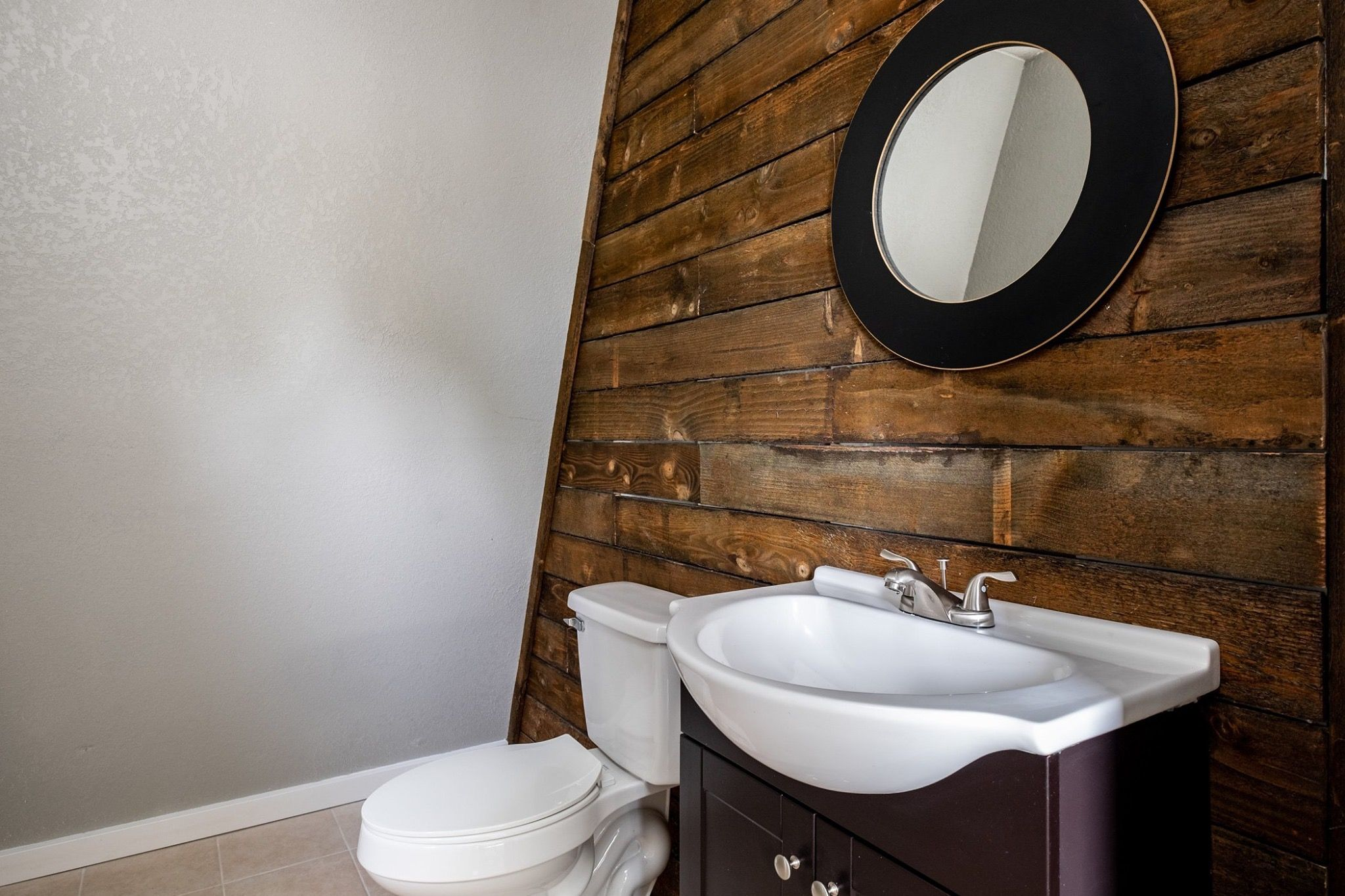 Pin By Margy Motsinger On Bathroom Remodel Round Mirror Bathroom Bathrooms Remodel Bathroom Mirror