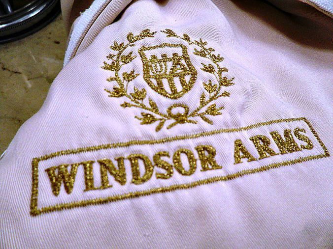 Windsor Arms Hotel, spa, bathrobe