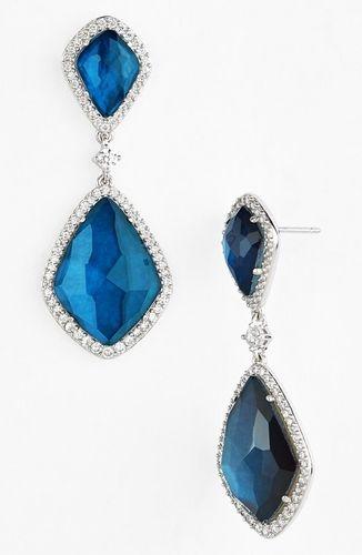 Nadri Topaz Drop Earrings from Nordstrom