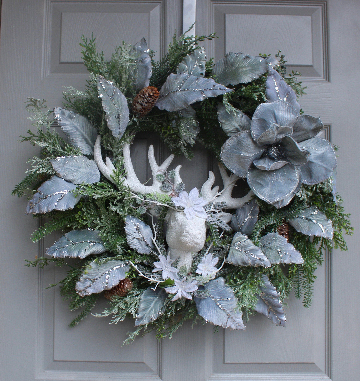 Photo of Christmas Wreath For Door ~ Winter Wreath ~ Winter Wreath For Door. ~ Christmas …