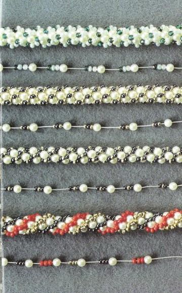 This is a major post on Turkish Crochet. Needs translation but has links to 3 different master classes, a how-to video and a number of stringing patterns that show the stringing pattern and the resulting rope. #Seed #Bead #Tutorial