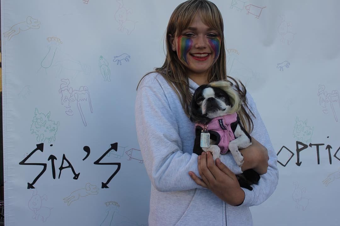 Thank you to everyone who's visited Sia's Dog Adoption on the #NostalgicForThePresentTour!