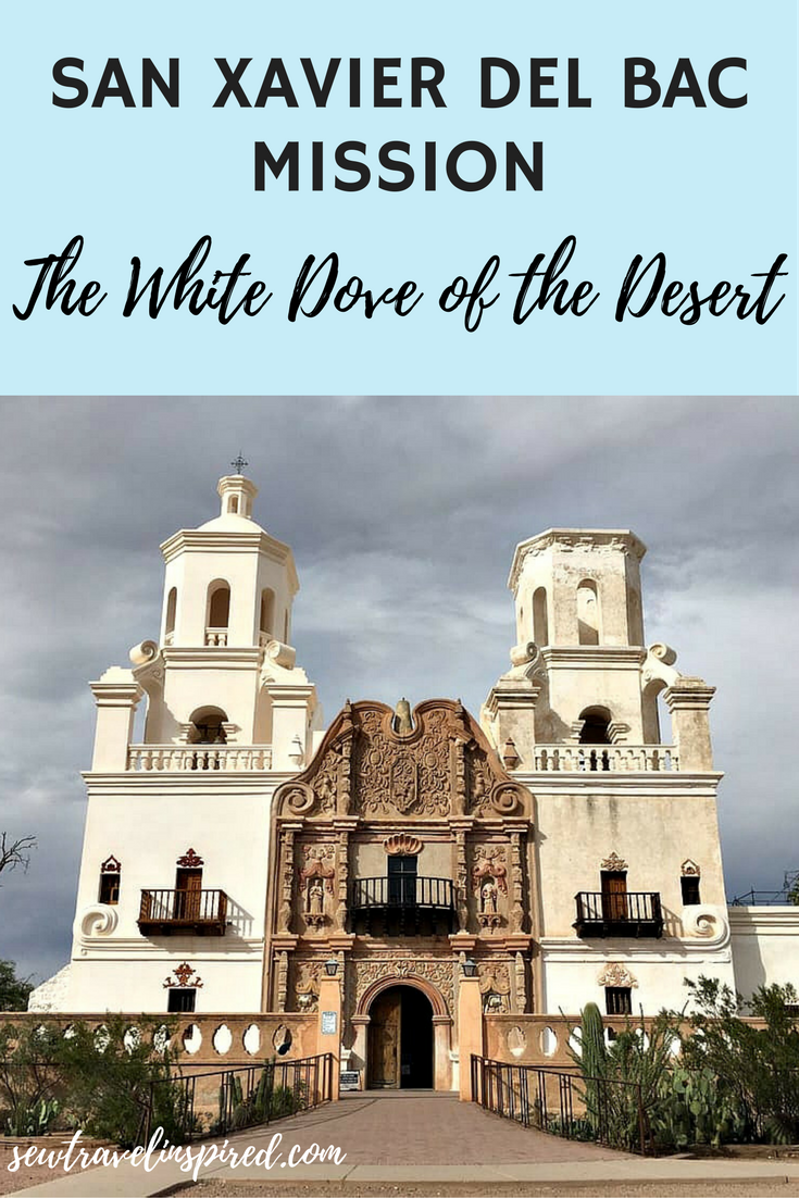 If you are looking for a unique experience, a spiritual refreshment, or just enjoy beautiful art and historical sights then you must see Mission San Xavier del Bac.