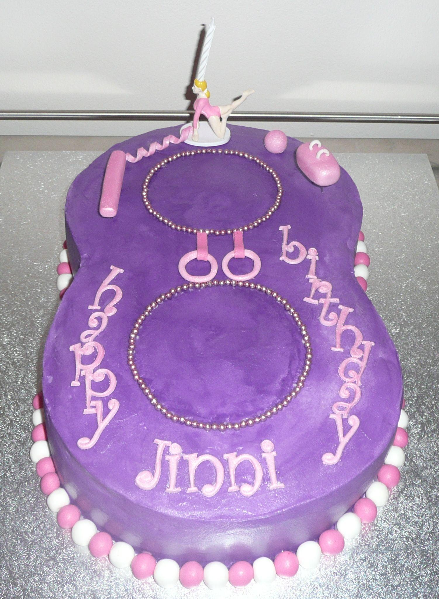 gymnastic cake topper - Google Search