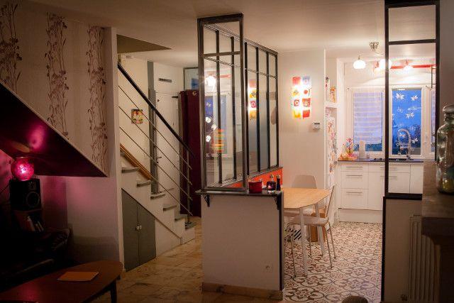 Verrière de cuisine sans porte - Verrières-du0027intérieur - Ghislain - decoration portes d interieur