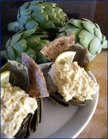 Artichoke Hummus Recipe ...Hummus not just for garbanzo beans anymore!