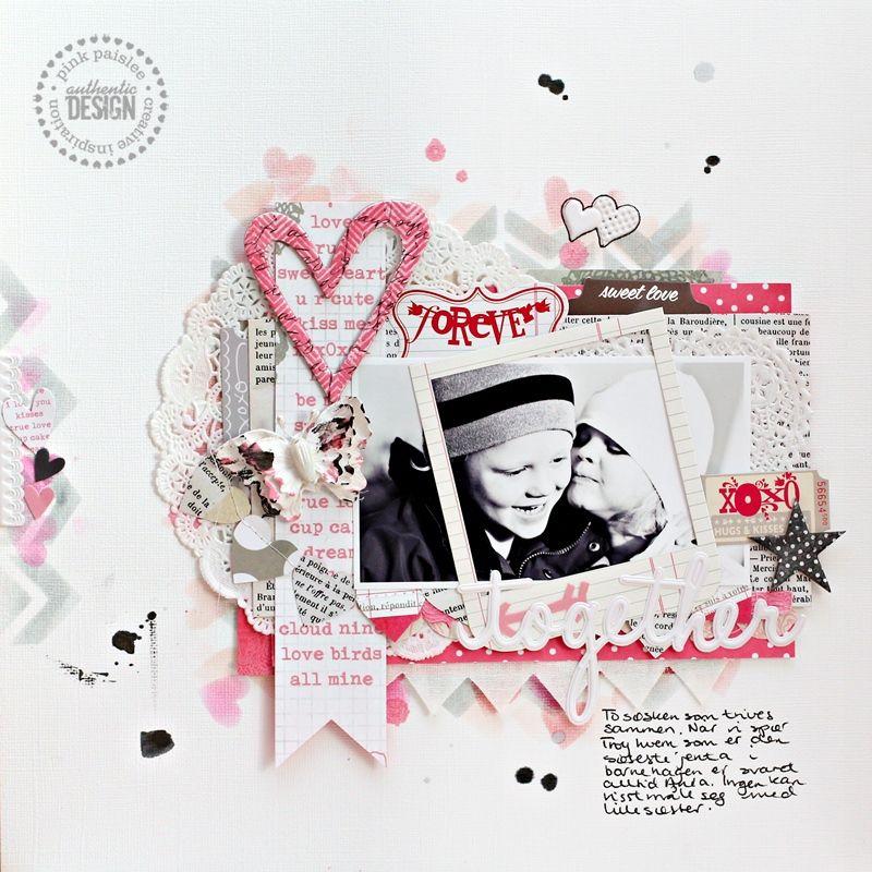 Together *Pink Paislee* - Scrapbook.com