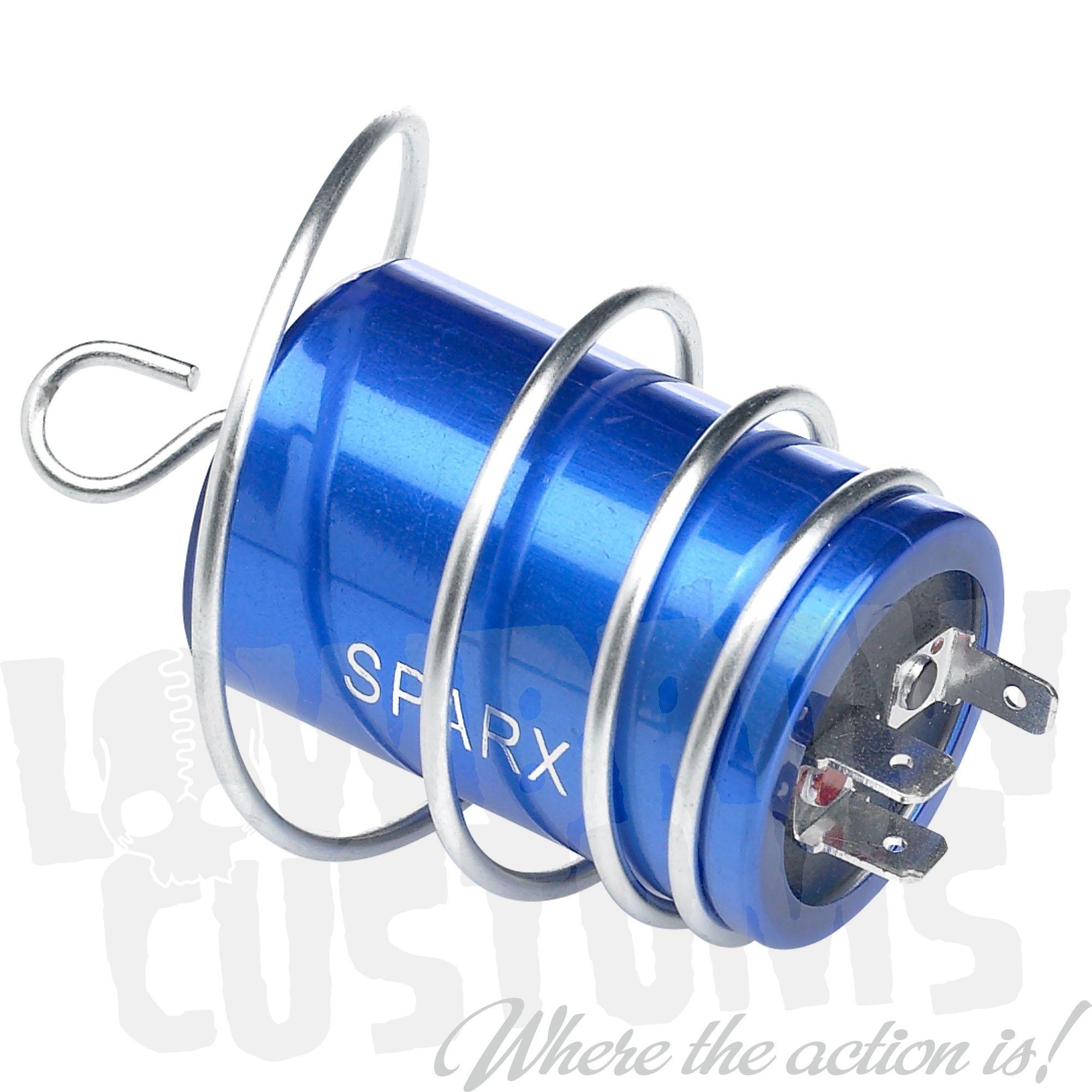 medium resolution of sparx capacitor battery eliminator replaces lucas 2mc 54170009