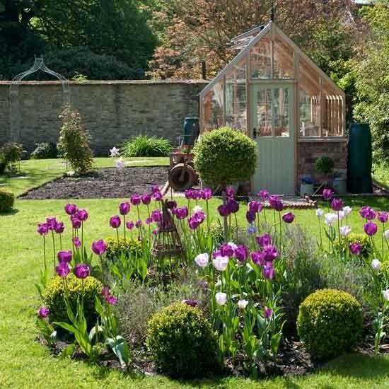Jardin de pays | pays Vintage house | Visite Maiso...