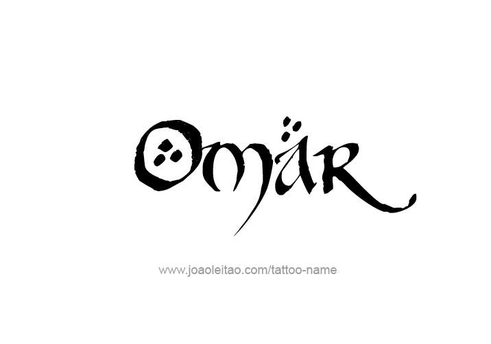 Omar Name Tattoo Designs Name Tattoo Designs Name Tattoos Tattoo Designs
