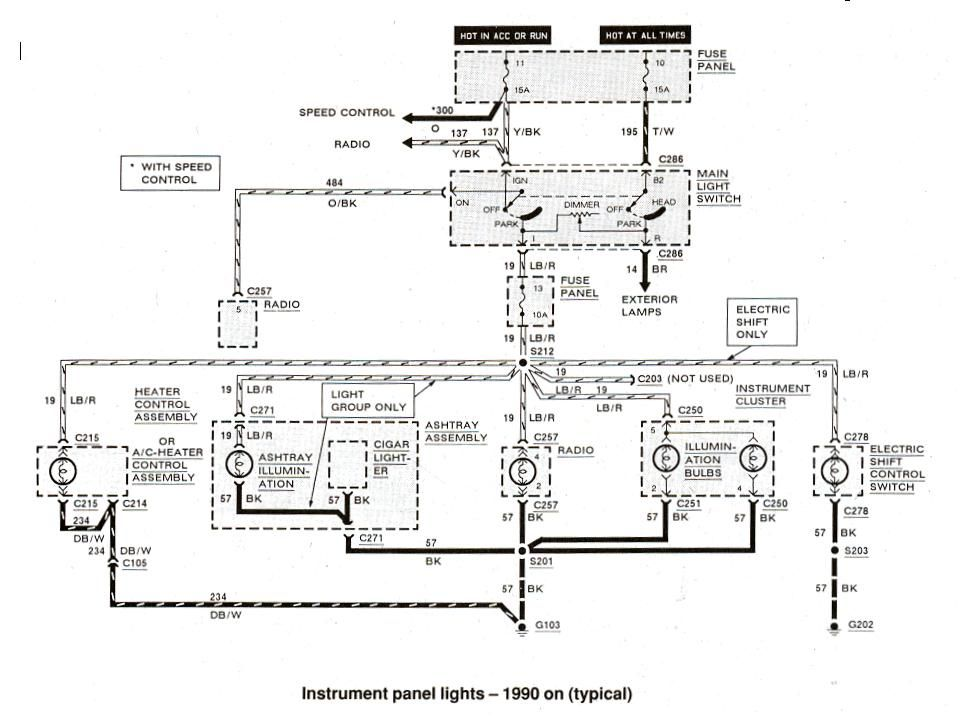 1990 ford ranger fuse box diagram  group picture image