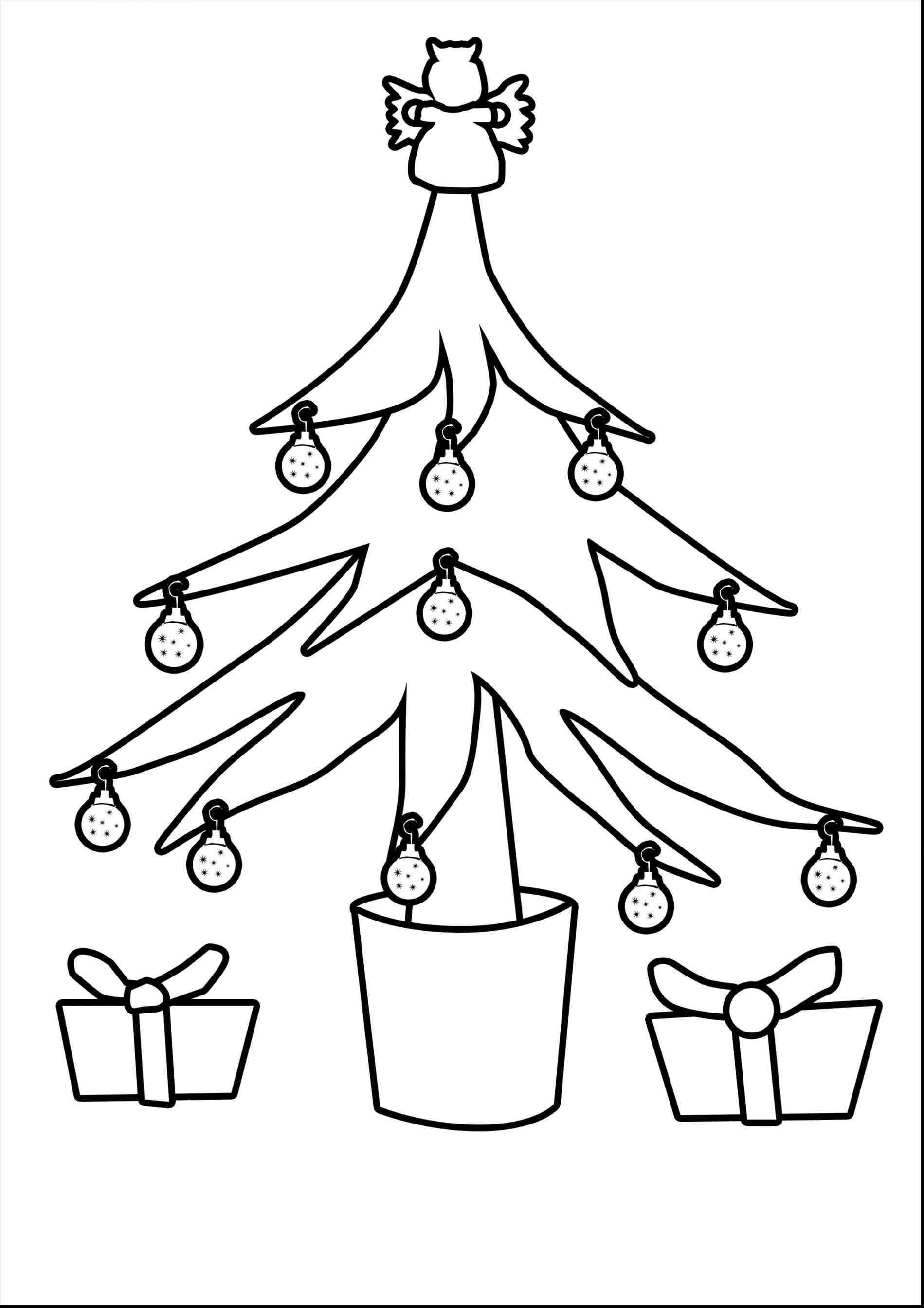 New Post-christmas tree ornaments coloring pages for kids ...