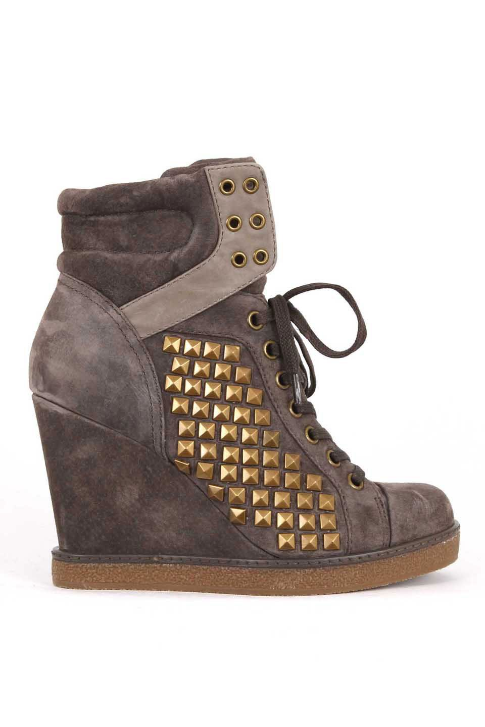946625c6340 Report Nadja Wedge Sneaker In Gray