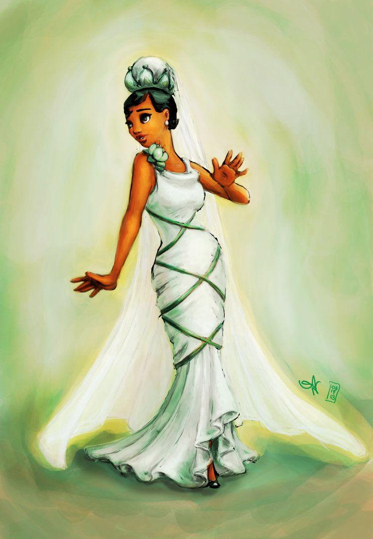 Tiana\'s Wedding Dress by kayananas on deviantART   Tiana   Pinterest ...