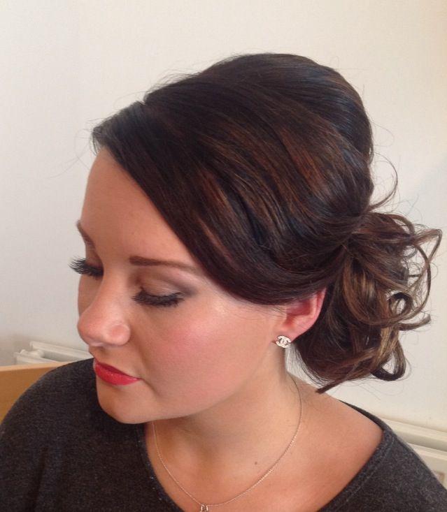 Side Swept Bun Elegant Amp Simple Graduation Ball Hair Amp Makeup Www Stylingbysusan Com Freelance Hair Amp Makeup Artist Big Hair Hair Makeup Hair
