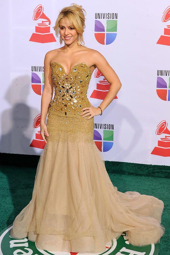 Shakira from Grammy Awards Fashion Flashback