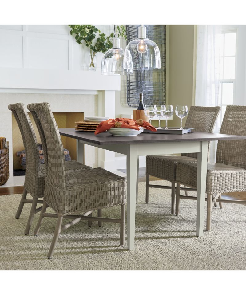Flip Small Vamelie Dining Table Crate And Barrel Home
