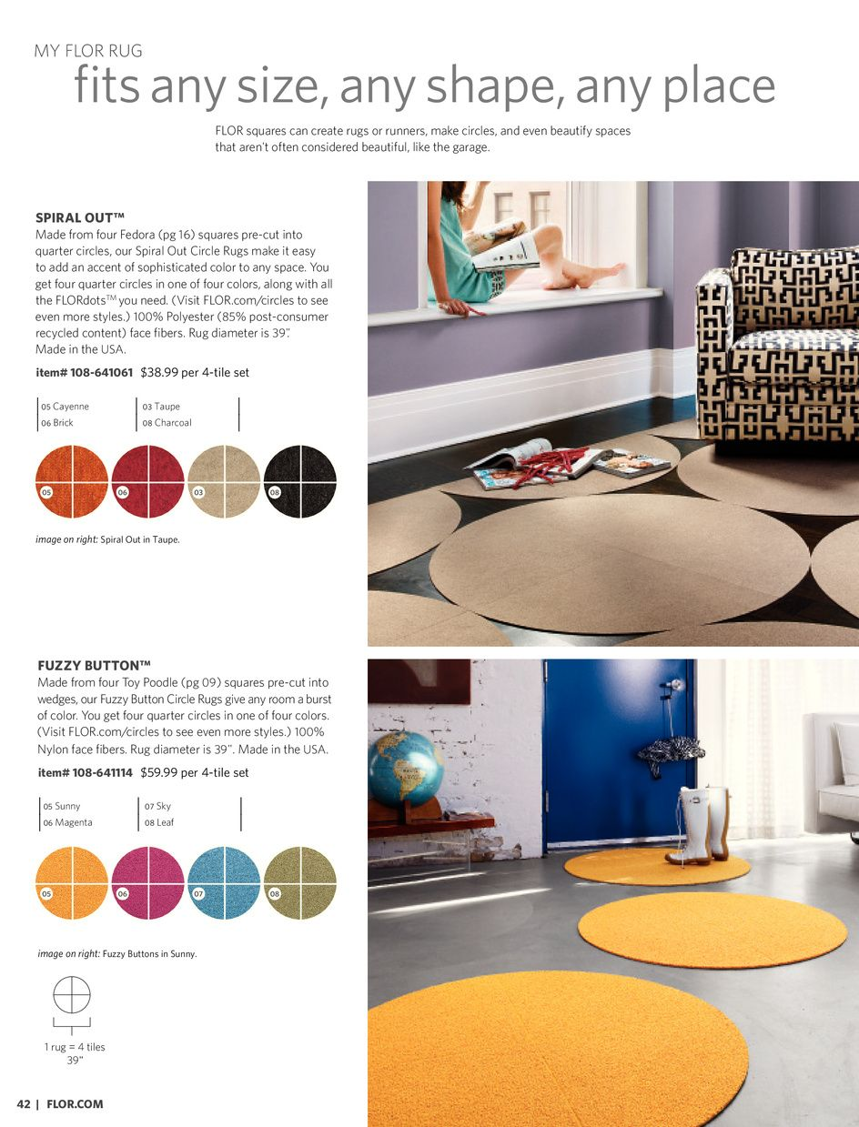 Flor Round Rugs Layered Rugs Rugs Round Rugs
