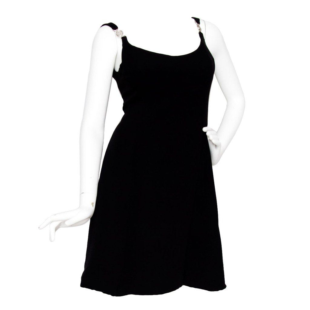 For sale on stdibs a s inspired s vesace black mini dress
