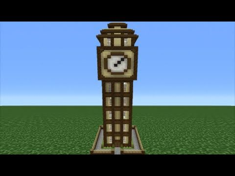 Minecraft Tutorial How To Make A Clock Tower House