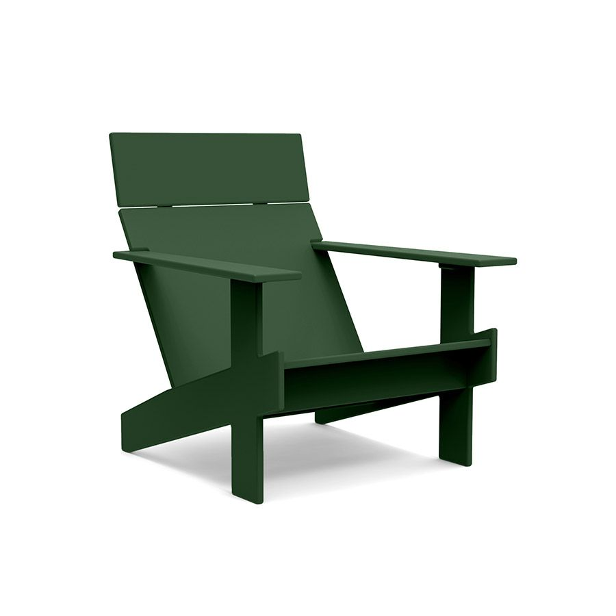 Loll designs namesake chair the lollygagger lounge is an outdoor patio chair that redefines comfort and style made in the u s a from 100 recycled