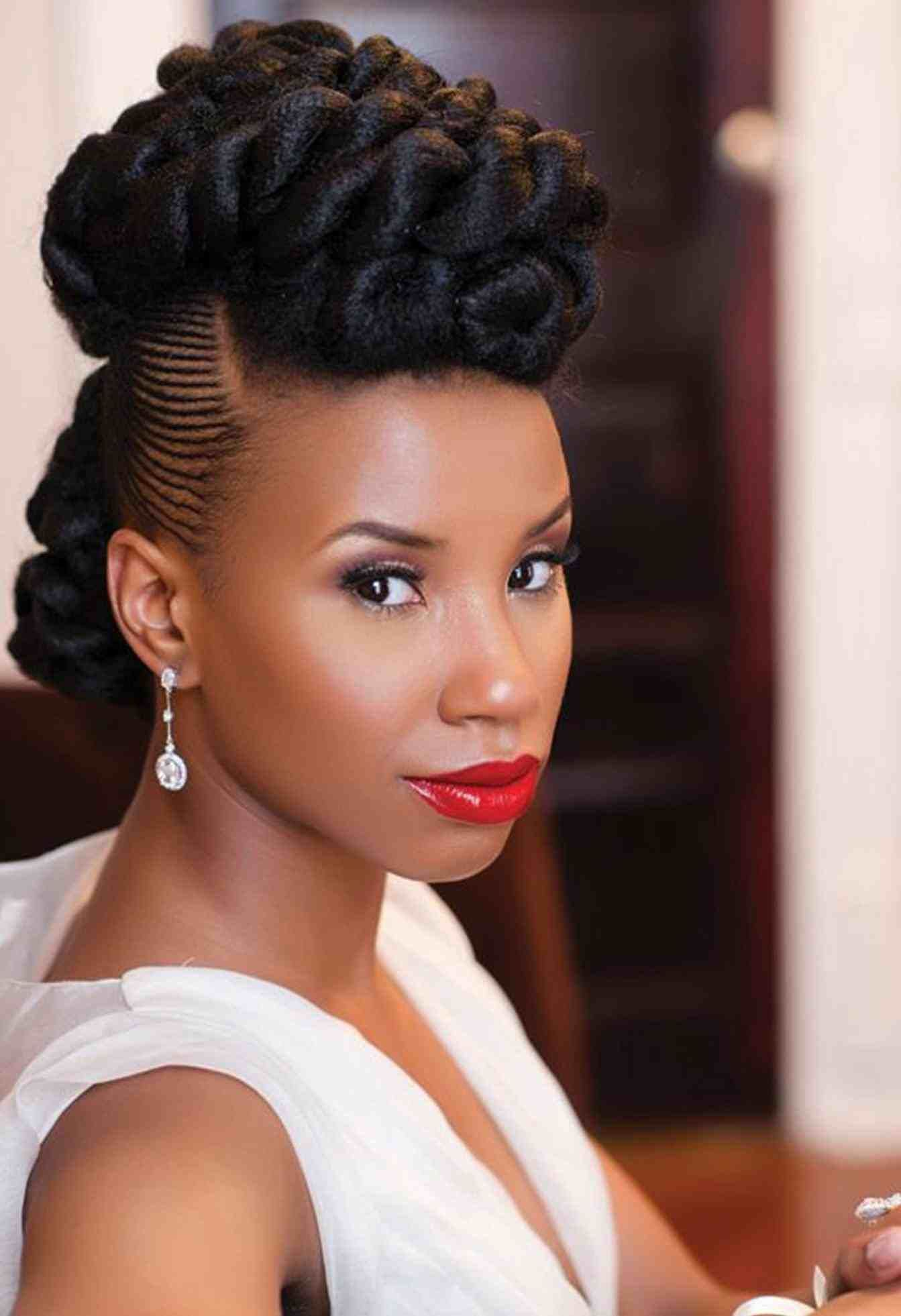 nigerian white wedding hairstyles | hair stylist and models