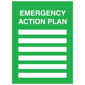 Diy Emergency Action Plan Template Family Evacuation