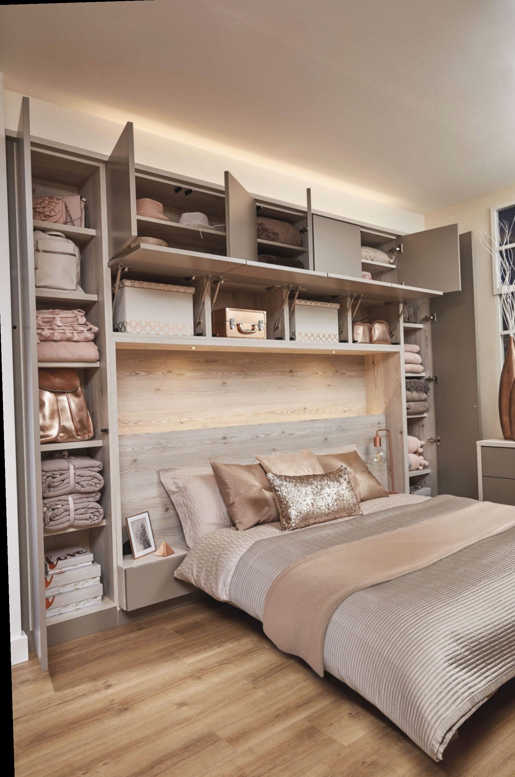 3+ Room Bedroom Ideas Grey in 3  Fitted bedrooms, Fitted