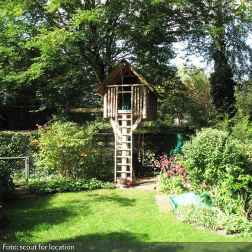 Baumhaus im Garten | roomido.com