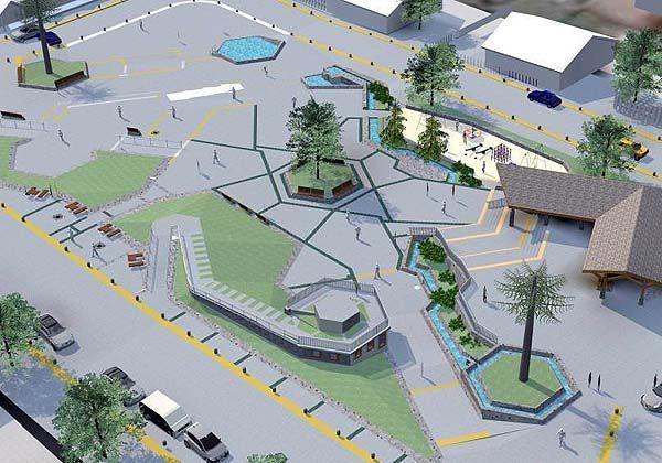 plazas modernas buscar con google arquitectura