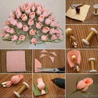 pimpollos de rosas