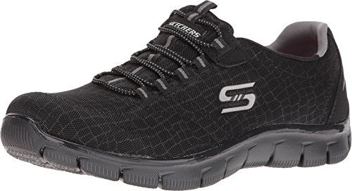 Zapatillas GOwalk Outdoors Trail para hombre, color carb¨®n / negro, US 7.5 M