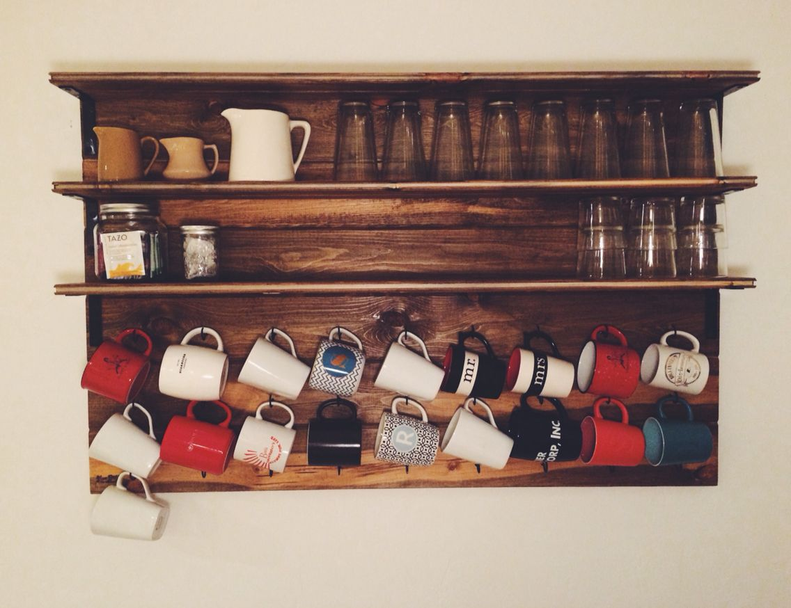 Coffee Mug Rack. (With images) Diy mugs, Carpentry diy