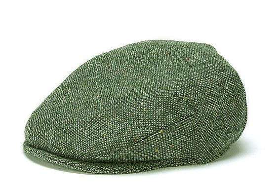 9af9c06707742 Hanna Hats Donegal Tweed Vintage Cap - Moss Green Salt   Pepper- Sullivan  Vitamins