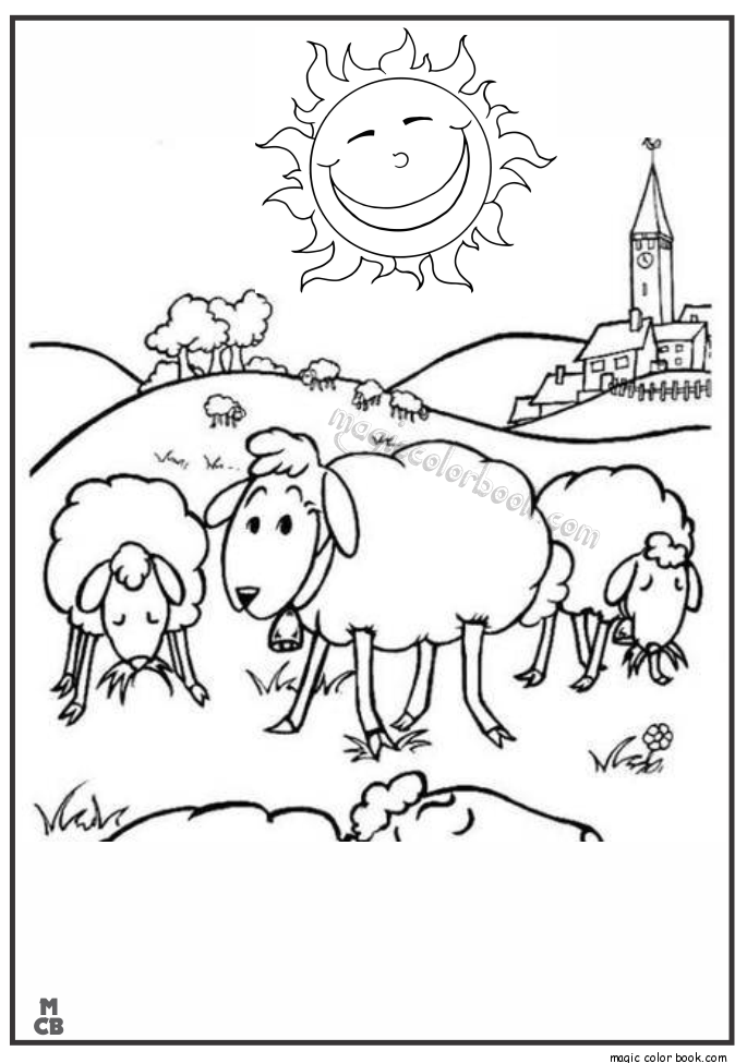 Shaun Sheep Free Printable Coloring Pages 06 Mewarnai Pinterest