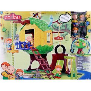 Caillou Tree House [Contains 4 figures]. Bear.
