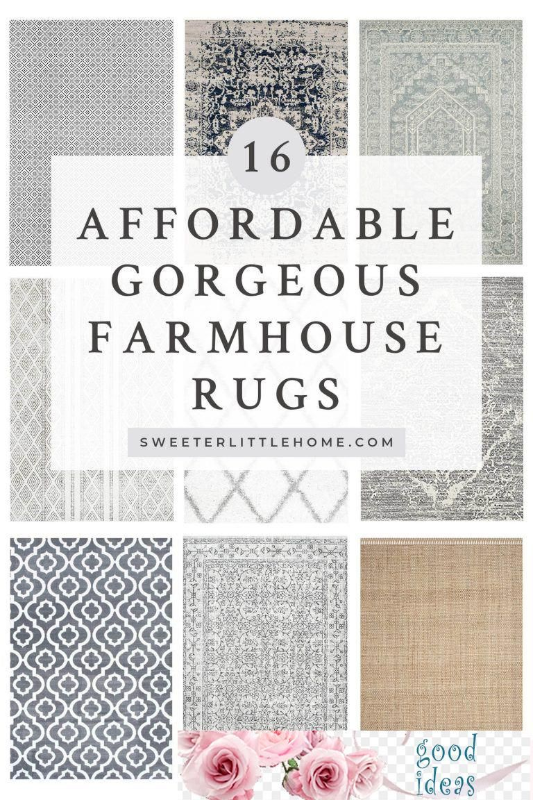 01tem2019 beautiful farmhouse rugs you can buy online