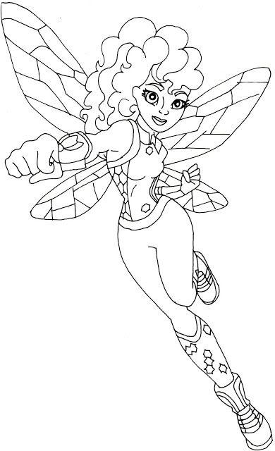 pincoloring fun on super hero girls  superhero