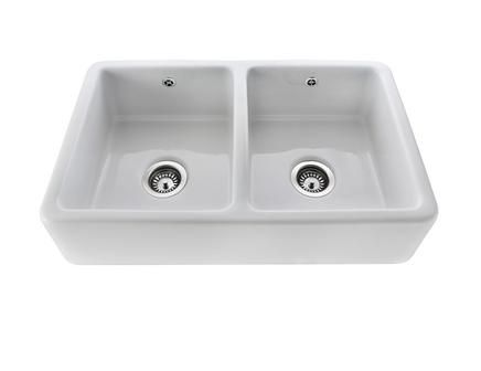 Ceramic Double Kitchen Sink Lamona white ceramic double belfast sink kitchens pinterest the lamona ceramic double belfast sink is the perfect finish to any kitchen workwithnaturefo
