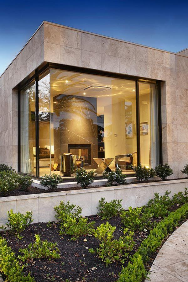 Contemporary Home Single Family House In Kifisia: Luxury Single Level House In Melbourne Australia