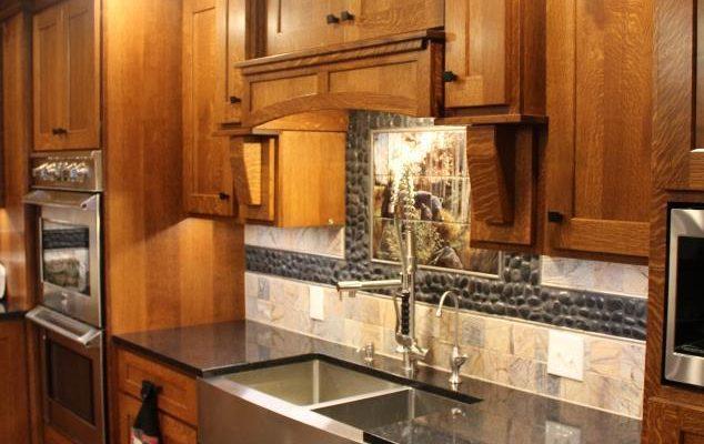 Best Quarter Sawn Oak Custom Kitchen Utica Pa Fairfield 400 x 300