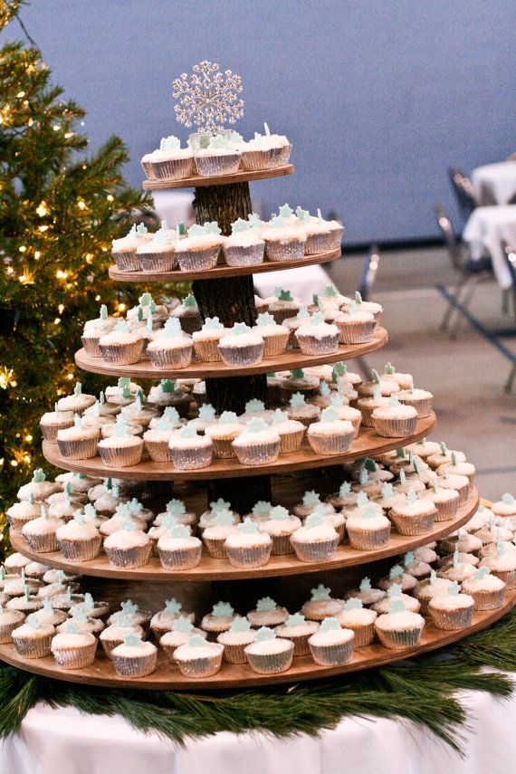Six Tier Wedding Cupcake Stand Rustic WeddingReserved