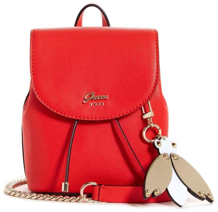 Handtasche Varsity Pop Mini-Bag Red Guess IuqaPg