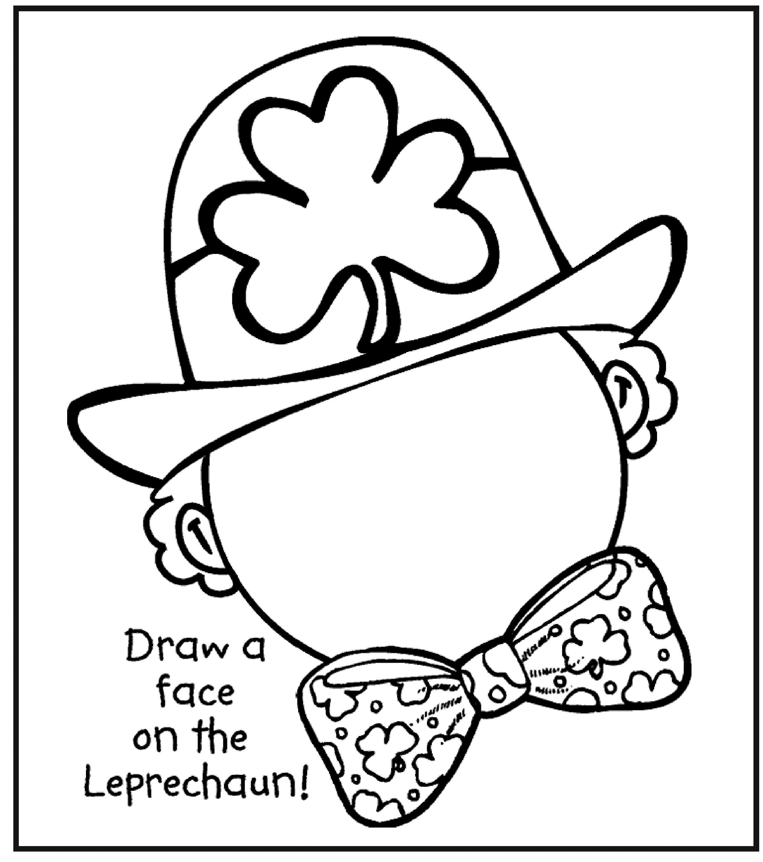 Coloring Pages St Pattys Day Coloring Pages 1000 images about st patricks day on pinterest leprechaun animal coloring pages and spelling