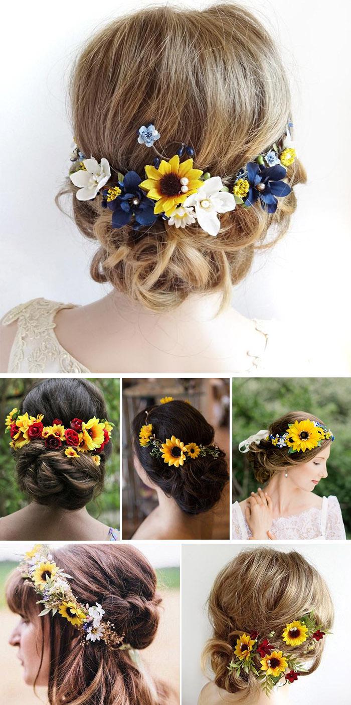 30 Cheerful Sunflower Wedding Ideas For A Rustic Chic Wedding Elegantweddinginvites Com Blog Sunflower Themed Wedding Sunflower Wedding Rustic Sunflower Wedding