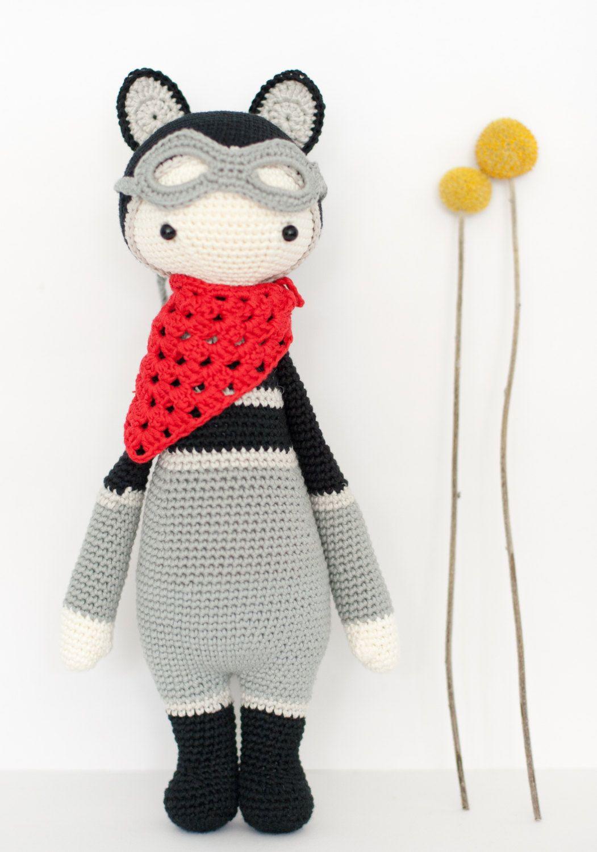 LALYLALA ROCO Muñeco amigurumi mapache por MissKatiuska en Etsy ...