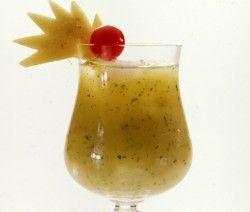 Champanhe com Polpa de Abacaxi