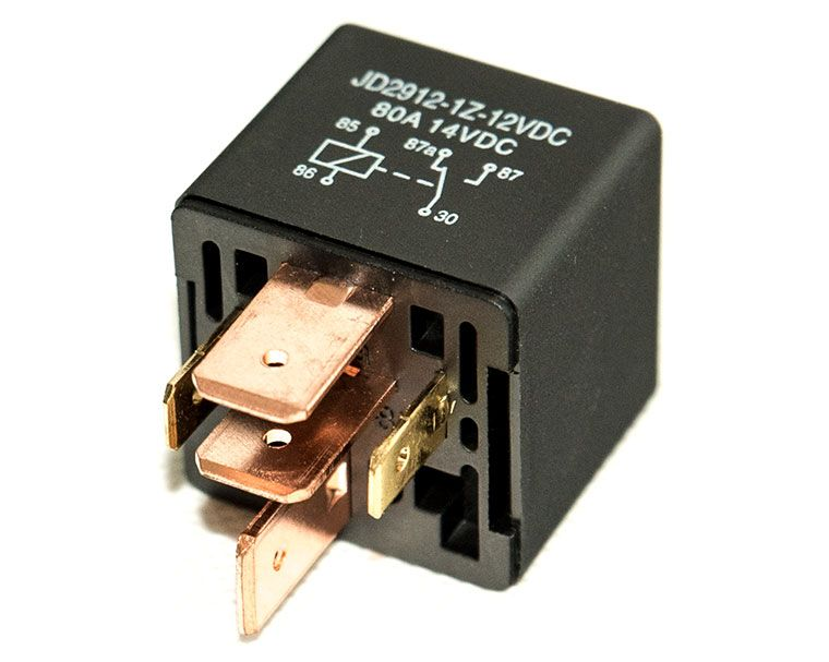 12v And 24v Automotive Dc Relay 80a Spdt 5 Pin Dc Relay One Normal Open And One Normal Close Relay Repair Automotive