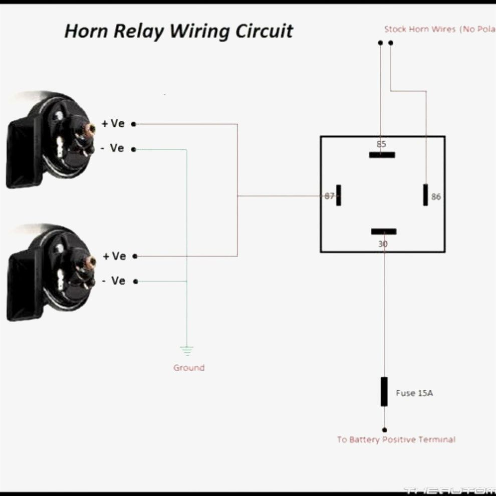4 Stunning Wiring Diagram Car Horn Relay For You